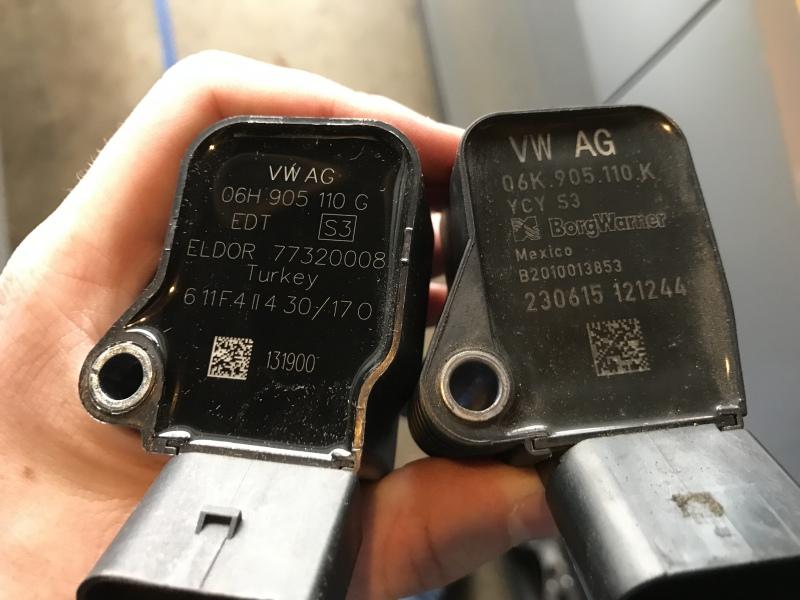 RS3 Coilpacks installed | Car Worklog